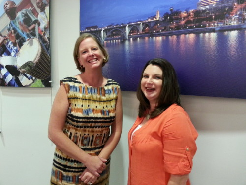 Kim Bumpas, Kelli Gibson of Visit Knoxville