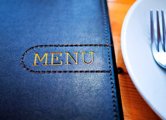 Planners need to may the right selection when it comes to menu.