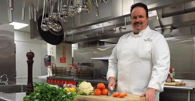Chris Moore, executive chef for the Knoxville Convention Center.