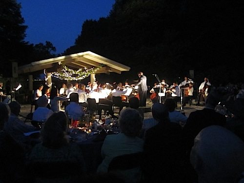 Symphony in the Park at IJams Nature Center (Blue streak photo)